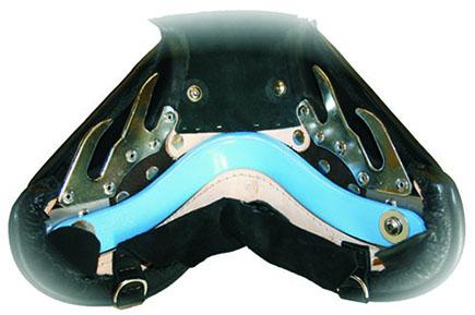headplate in saddle